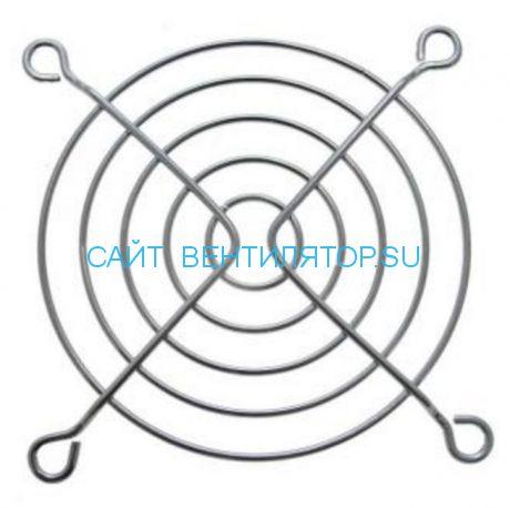 Решетка для вентилятора металлическая 80х80