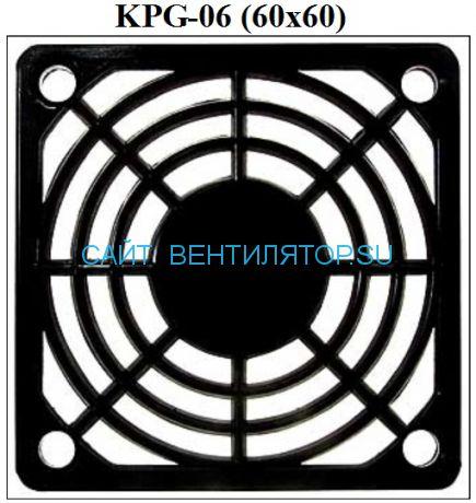 Решетка для вентилятора пластмассовая 60х60