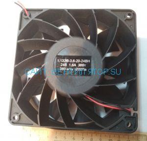 Вентилятор 1,13 ЭВ-3,6-20-24ВН (120х38, 24в)
