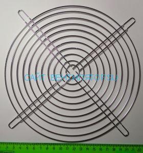 Решетка для вентилятора металлическая 200х200